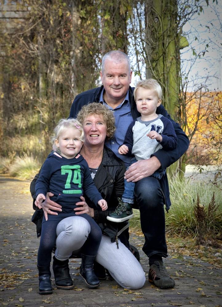 Fotoshoot bij het Resort Hof van Saksen in Drenthe