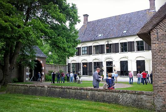 Fotograferen bij Landgoed Oversinghe voor het NVBU