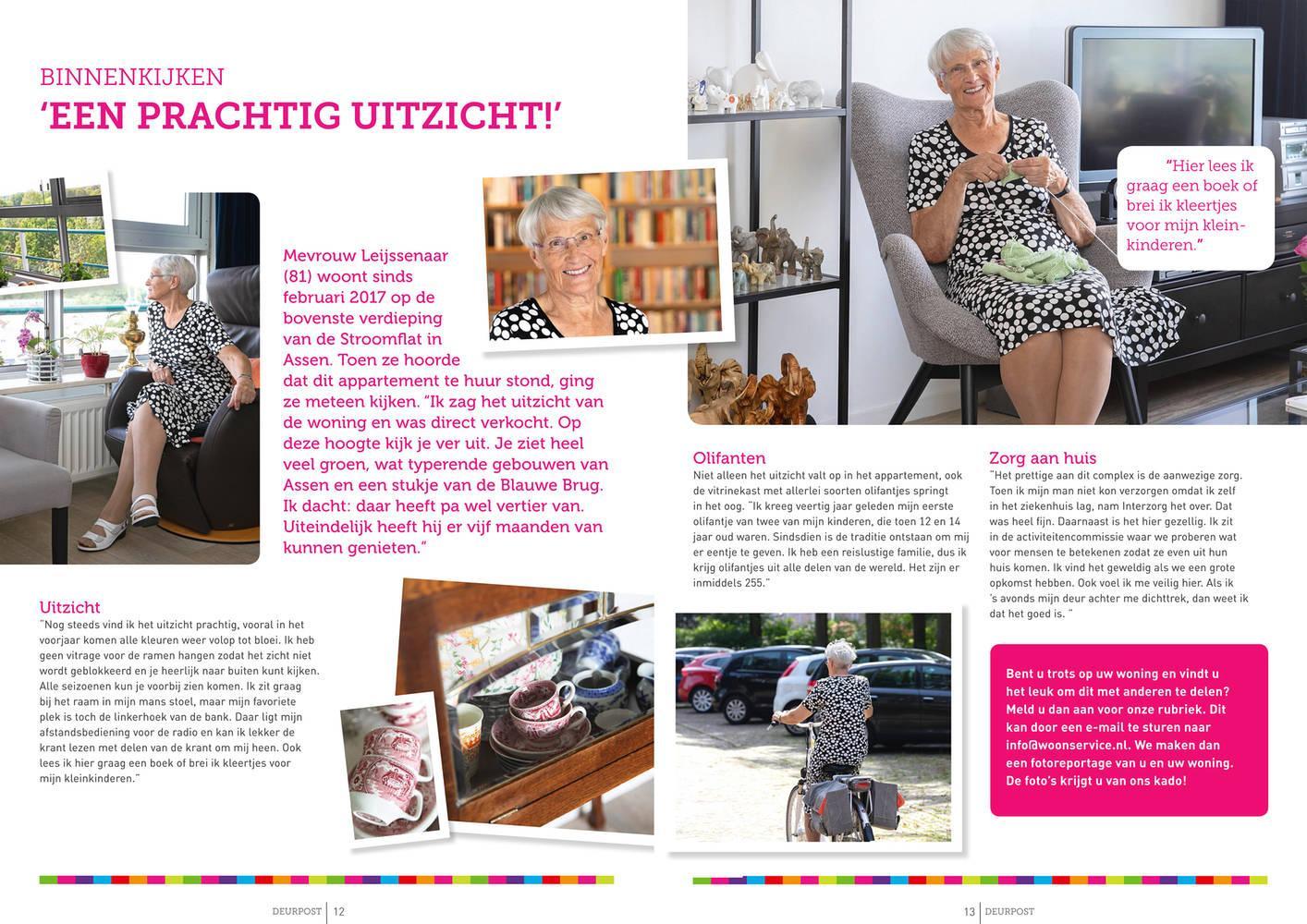 Fotografie huurdersblad Woonservice