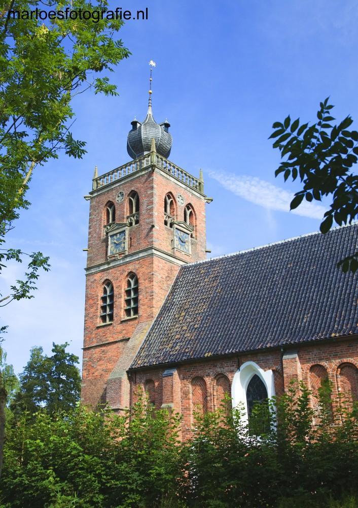 De dorpskerk in Noordwolde, Groningen in opdracht van www.mkbverzekeringen.nl