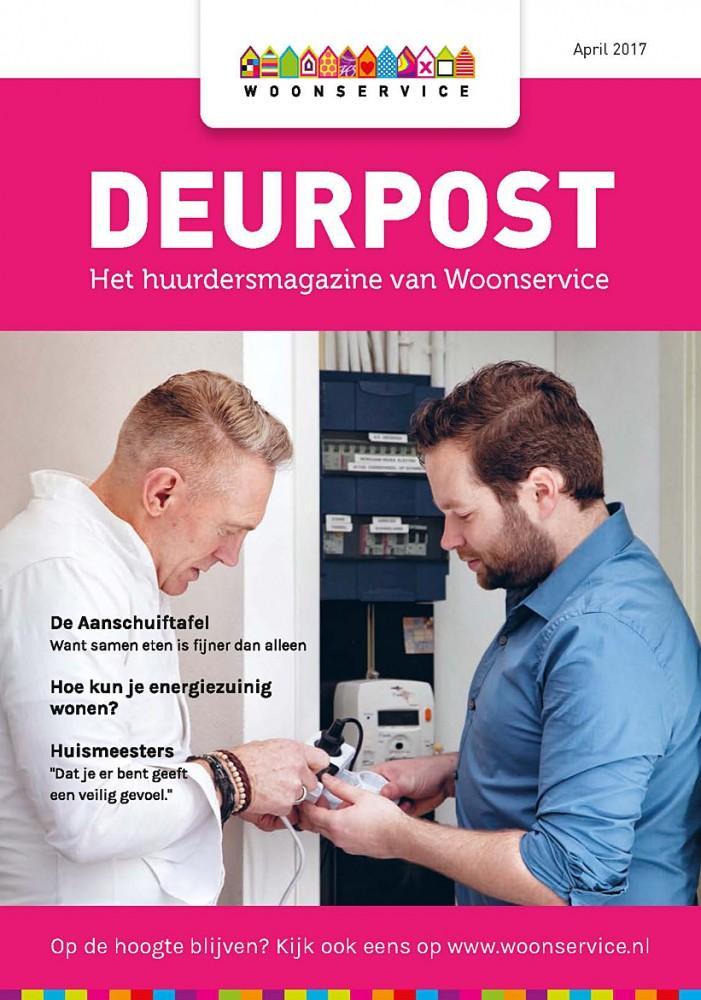 Coverfoto voor de deurpost huurderblad