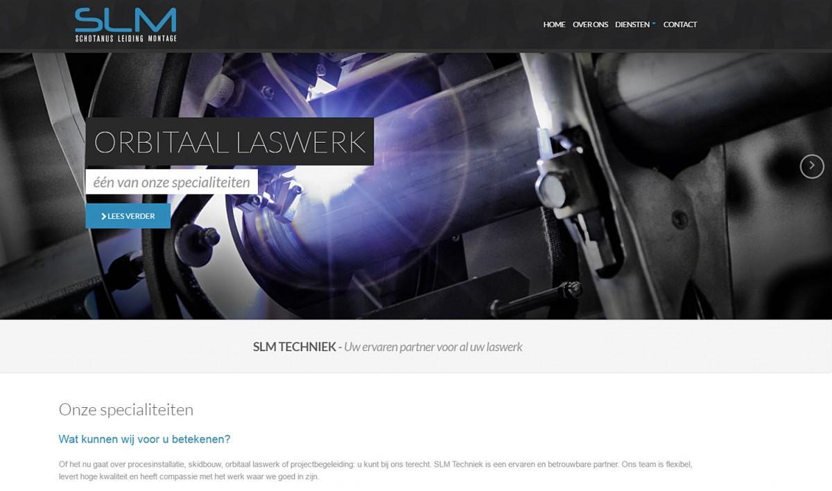 SLM techniek, website gebouwd en ontworpen door Bsconnect.nl